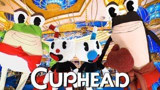 "Cuphead Plush - ""Ribby and Croaks"""