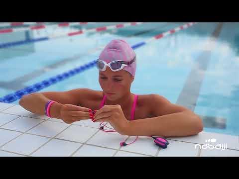 Nabaiji - Mp3 swimmusic 100 - Juist gebruiken