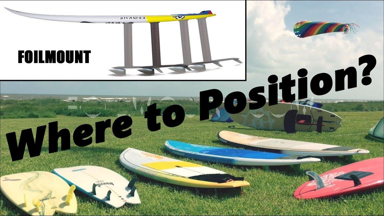 FoilMount Hydrofoil Mounting Position Guide – FoilMount com