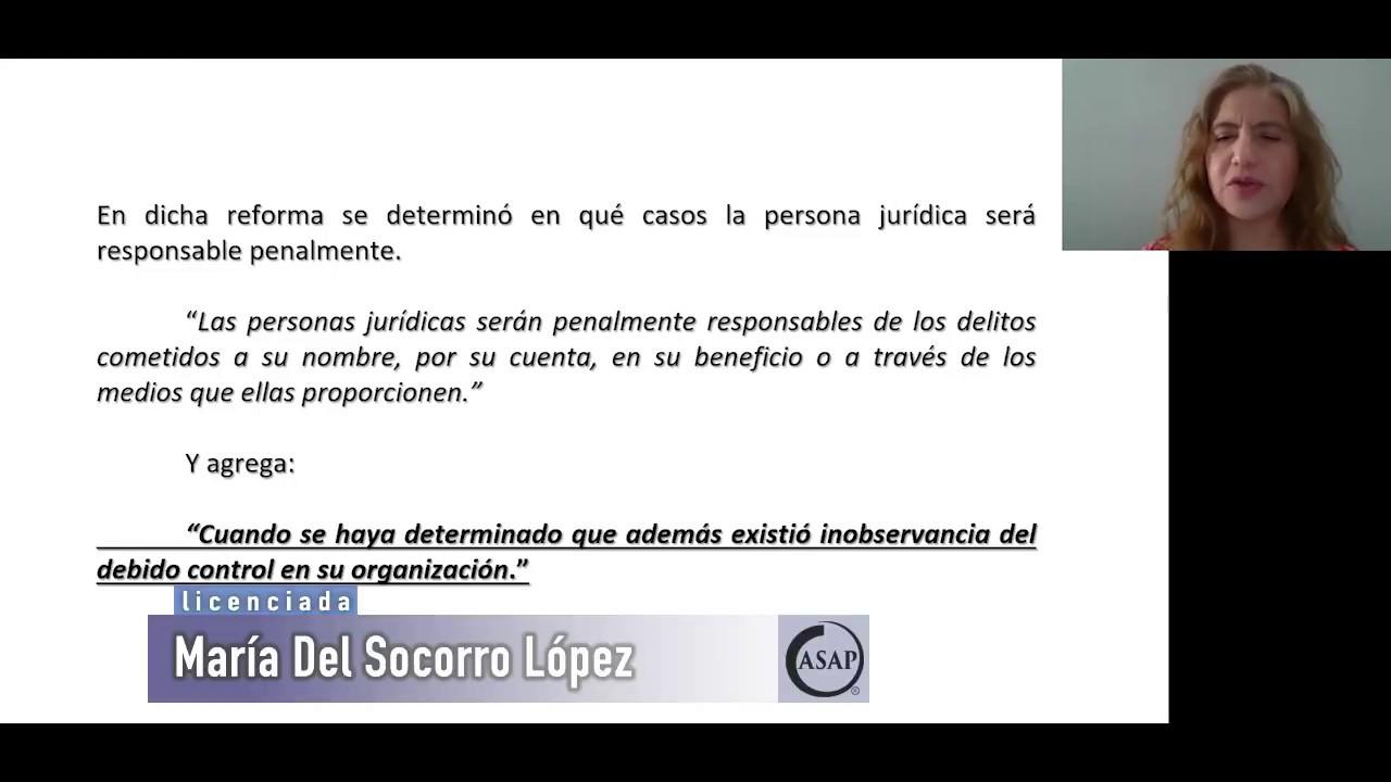 Compliance ante la Reforma Penal Fiscal
