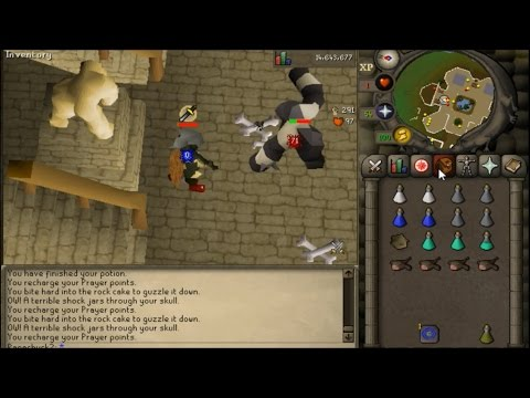 how to get low hp ure osrs melee