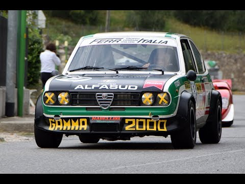 Alfasud TI Trofeo hillclimb - on board & pure sound