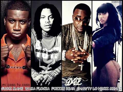 Gucci Mane, Waka Flocka, Fozzie Bear, Shawty Lo and Nicki Minaj - Mi casa, tu casa
