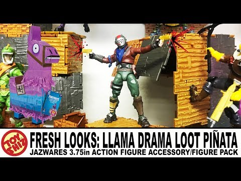 Toy Shiz FRESH LOOKS: Jazwares FORTNITE Toys Llama Drama LOOT PIÑATA