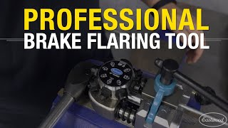 Creating a PERFECT FLARE EVERY TIME with the Professional Brake Line & Tubing Flaring Tool -Eastwood