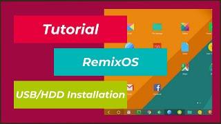Tutorial | Android Remix OS auf Festplatte/USB installieren/verwenden | Andorid x86