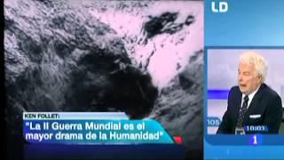 El Invierno el Mundo de Ken Follett - Presentacion y Entrevista en TVE1