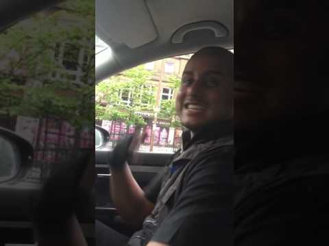 Taxi song. Ali McCabby (cabbi) aka DJ Theme Tune. Has to be Uk's funniest cab driver/ taxi driver.