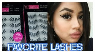 FAVORITE AFFORDABLE LASHES. SALON PERFECT. 2017