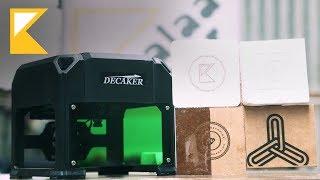 Decaker Mini Laser Engraver - Review