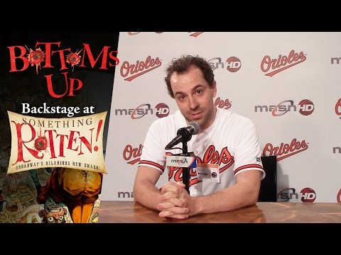 Episode 12 - Bottoms Up: Backstage at the SOMETHING ROTTEN! Tour with Rob McClure