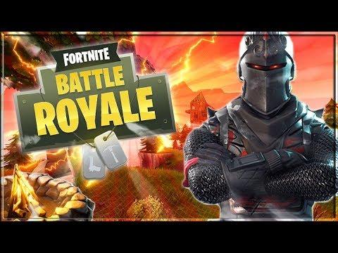 I FINALLY GOT THE BLACK KNIGHT SKIN!! - Fortnite Battle Royale