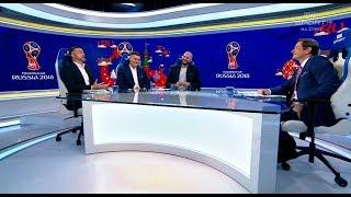 Spięcie w studiu TVP Sport.