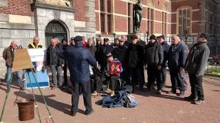 'Stad Amsterdam' gezongen door Mannenkoor Weespertrekvaart