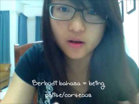 Learn Basic Malay! Bahasa Melayu - Vlog