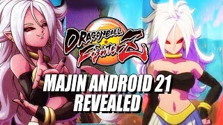 MAJIN ANDROID 21 REVEALED: Gameplay Teaser & Impressions w/Maximilian