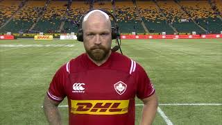 Canada vs. Scotland in Edmonton | Post-Match Reaction from Ray Barkwill