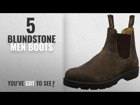 Top 10 Blundstone Men Boots [ Winter 2018 ]: Blundstone Unisex Super 550 Series, Rustic Brown, 10