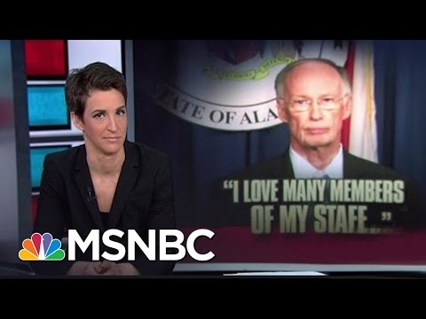 'Family Values' Alabama Governor Mired In Sex Scandal | Rachel Maddow | MSNBC