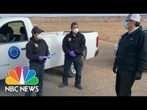Navajo Nation President Asks For Federal Aid For 'High Vulnerable Population' | NBC News NOW