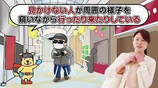 「街の安全みまもり」広報動画 広報編(60秒版)