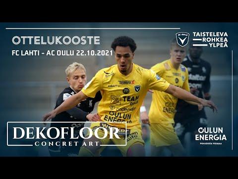 ACOTV: Dekofloor ottelukooste FC Lahti - AC Oulu 22.10.2021 (Veikkausliiga)