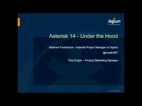 Asterisk 14 Under The Hood | Phone System | Webinar