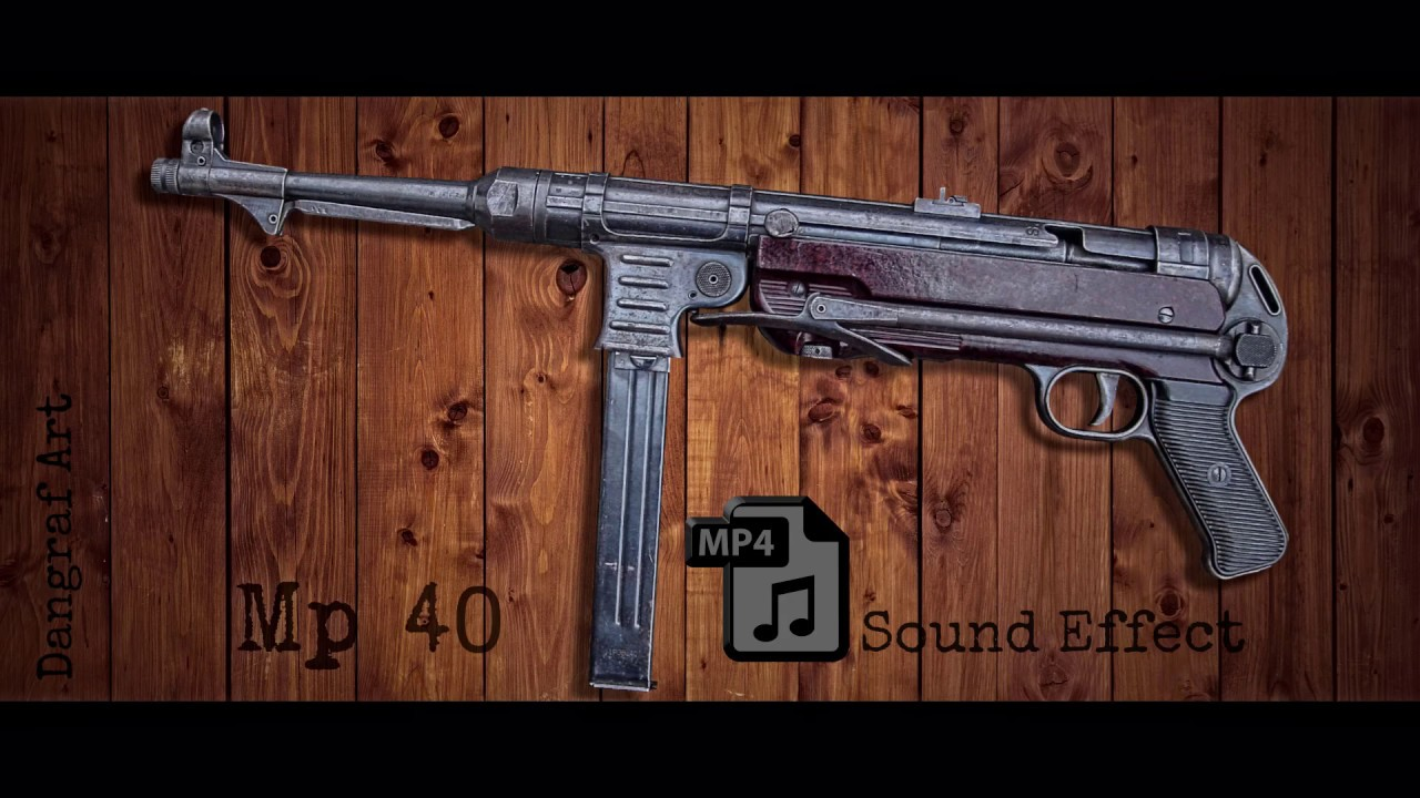Submachine Gun Mp Sound Effect Free To Use