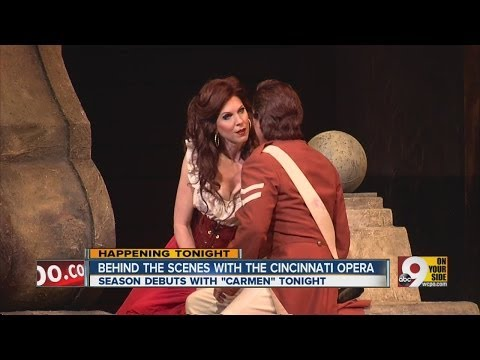 Behind the scenes at the Cincinnati Opera
