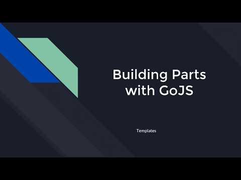 Building Parts: Templates | GoJS Beginner Tutorial #4 - YouTube