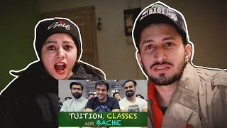Tuition Classes aur Bache  Reaction on Ashish Chanchlani