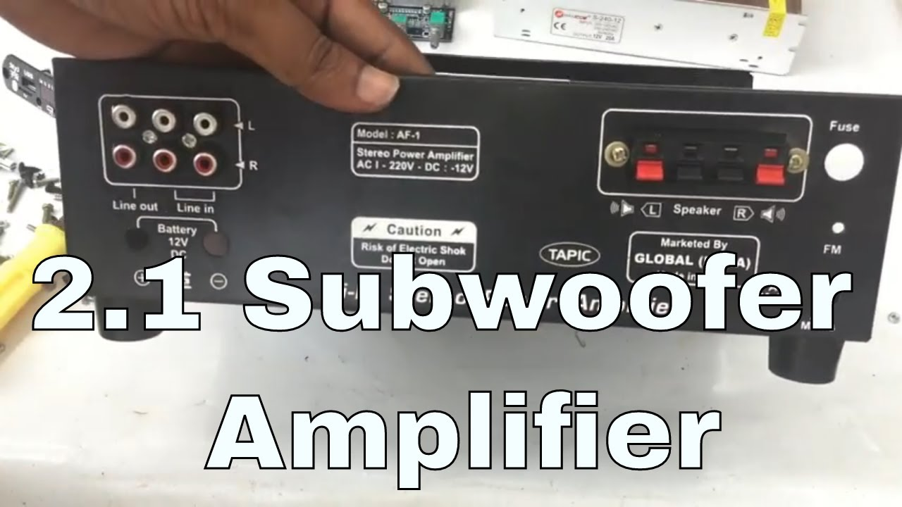 How To Make Tpa3116d2 21 Channel Subwoofer Amplifier 2x50w 100w Assembling Process Part 1