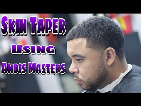 SKIN TAPER | ANDIS MASTERS | BLACK LABEL EDITION