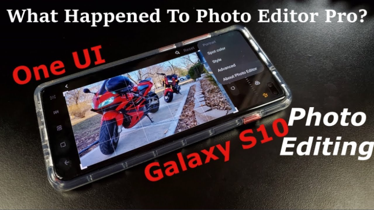 How To Edit Photos On Samsung One UI & Galaxy S10