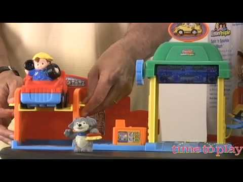 Little People Spin 'n Sparkle Car Wash From Fisher-Price