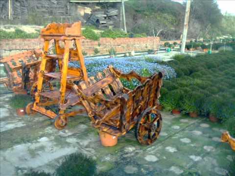 decoracion rustica madera y hierro forjado youtube