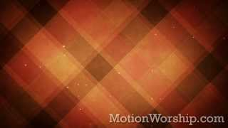 Plaid Patterns Autumn Orange HD Loop by Motion Worship