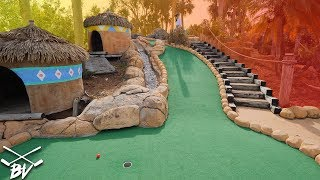 CAN WE MAKE THE GUARANTEED MINI GOLF HOLE IN ONE SHOT?!