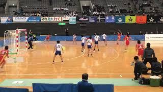 2019 ハンドボール全日本インカレin宮城 女子準決勝・大体大vs東海大(3分間ダイジェスト)
