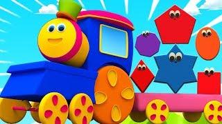 Боб Поезд | Формы Для Детей | Обучение Для Детей | Shapes Train | Educational Video | Kids Tv Russia