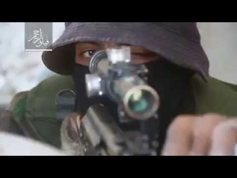 Aksi Sniper Failaqur Rohman Menembak Mati Tentara Bassar di Irbin, Damaskus.