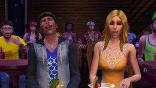 إنشاء-a-Sim Sims 4 اولي Perdu و بابس L أموريه في سيمز 3