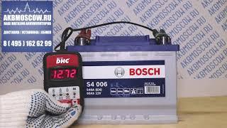 видео обзор АКБ Bosch S4 006
