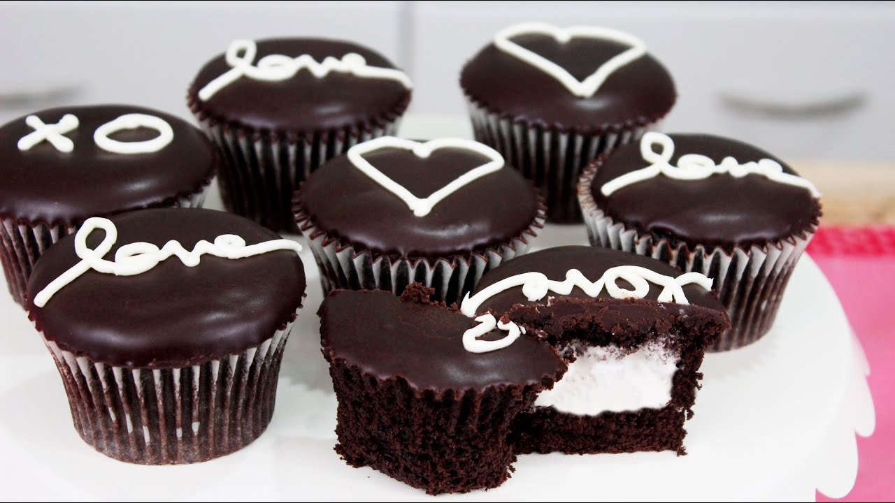 Chocolate cupcake recipe kawaiisweetworld
