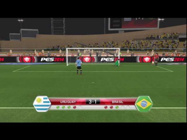 #PES2014 Uruguay vs Brasil relatos Chilenos/Option File Soulbeating/Glatiatore Videos De Viajes