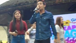 vuclip Meant To Be: Ken Chan Serenade Fans in Panagbenga2017 GMA Kapuso
