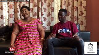 KWAKU MANU ONE ON ONE AGGRESSIVE INTERVIEW WITH CHRISTIANA 🔥❤