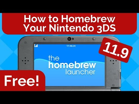 How to Homebrew Your Nintendo 3DS 11.9 for FREE