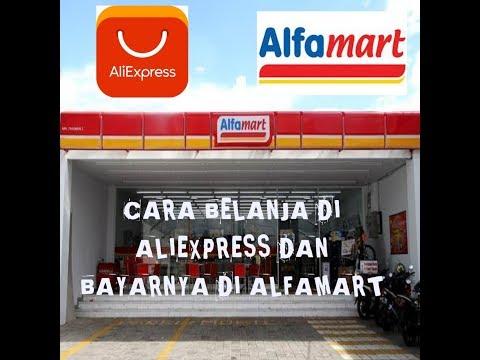 Belanja di aliexpress bayar di alfamart dan indomaret.