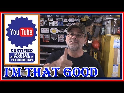 HOW TO BECOME A YOUTUBE  MASTER CERTIFIED TECHNICIAN - YOUTUBE TECH  vs  ASE  TECH  - LET'S TALK